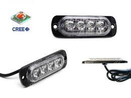 led strobe warning light flasher for truck trailer suv