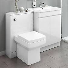 Basin And Toilet Vanity Unit Toilet Basin Vanity Units Ebay
