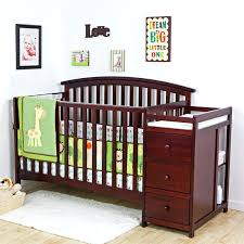 4 In 1 Baby Crib With Changing Table Convertible Baby Crib Changing Table Combo Carum