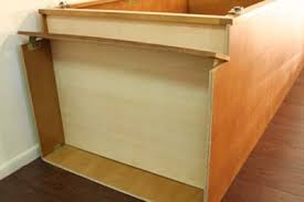 kitchen cabinet assembly installation instructions page arched oak