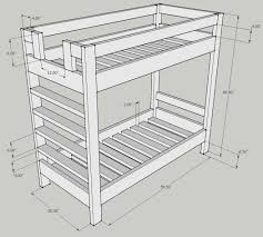 Bunk Bed Design Question  Kreg Owners Community Wood Work - Height of bunk beds