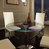 amazon com glass tables kitchen u0026 dining room furniture home
