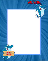 blank lined paper for writing printable ruled paper writing bordered blank paper shark bordered printable writing paper