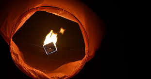 fireworks lantern sky lanterns pretty and illegal city of shores