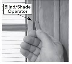 Pella Between The Glass Blinds Opening And Closing Blinds Or Shades Between The Glass With A