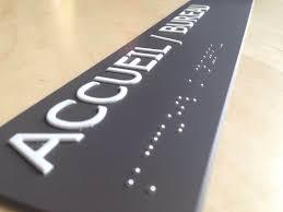 signaletique bureau signalisation braille pour pmr gerner signalisation