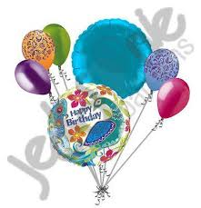 birthday balloon arrangements colorful peacock happy birthday balloon bouquet jeckaroonie balloons