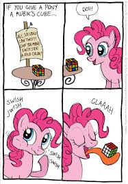 Funny Pony Memes - if you give a pony a rubik s cube pinkie pie by kturtle fur