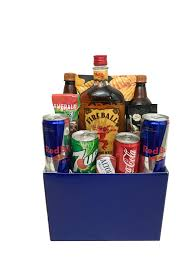 whiskey gift basket fireball whiskey gift box chagne gift baskets