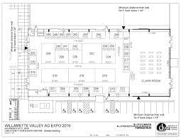 willamette valley ag expo floor plans santiam building