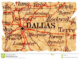 Maps Dallas Dallas Old Map Stock Image Image Of Maps Vintage Isolated
