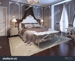 Art Deco Bedroom Furniture by Luxury Interior Art Deco Bedroom Exclusive Stock Illustration