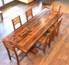 Dining Room Table Reclaimed Wood Narrow Dining Room Tables Reclaimed Wood Ilovegifting