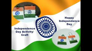 tri colour indian flag independence day crafts activity for kids