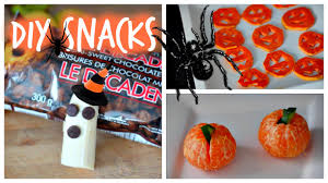 cheap halloween party snack ideas diy easy cheap u0026 healthy halloween snack ideas youtube