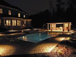 relax in your tampa bay pool longer with pool lighting backyard