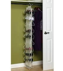 trademark home 30 pair hanging shoe organizer 82 3054tv the