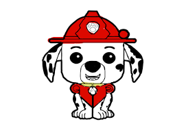 coloring book paw puppy patrol fun painting with cartoon
