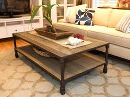 furniture rustic accent portable coffee table design with shelf
