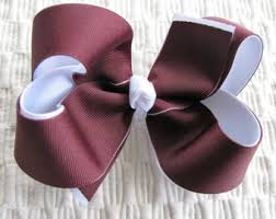 ribbon boutique aggie hair bow etsy