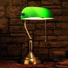 classic green desk lamp ameego me