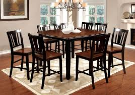 7 Piece Counter Height Dining Room Sets Black Counter Height Dining Room Sets