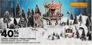 Dealigg Barnes And Noble Black Friday Deal 40 Off Lemax Christmas Village Collection