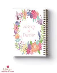 Best Wedding Planning Book Floral Wreath Design Wedding Planner Book Wedding Organiser