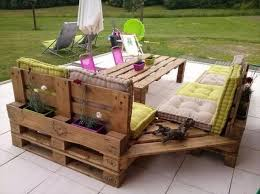 Pallet Patio Ideas Home Design Pretty Couch From Wooden Pallets Patio Benches Home