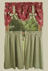 Country Kitchen Curtains Cheap by Style Idea For U0027guest Kitchen U0027 On Acreage Could Sub With Velcro