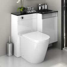 Bathroom Vanity Units With Sink Modern Bathroom Vanity Unit Basin Sink Storage Back To Wall Toilet