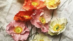 crepe paper flowers italian crepe paper flowers by tiffanie turner