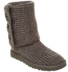 womens knit boots grey knitted uggs uk sweater