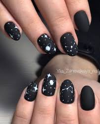 Black Manicure Designs Black Nail Best 25 Black Nail Designs Ideas On Black