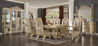7 dining room sets imperial handcrafted ivory finish 7 dining room set by homey
