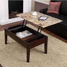 Corner Sofa Table Design by Modern Faux Marble Coffee Table Lift Top With Construction Of