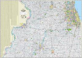 Illinois On Map by Map Of Northern Illinois And Southern Wisconsin Map Map Of The