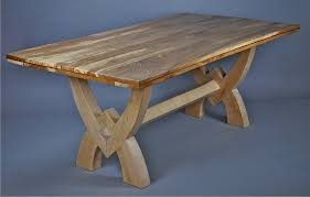 Bespoke Handcrafted Dining Room Tables  R J Williams Designs - Handcrafted dining room tables