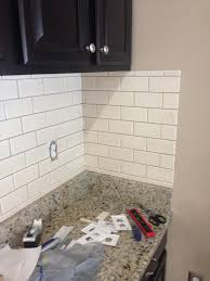 Diy Kitchen Backsplash Tile by Diy Kitchen Backsplash Frills U0026 Drills