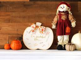 Craftcuts by Grateful Pumpkin Sign Thanksgiving Decor Craftcuts Com