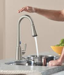 no touch kitchen faucets magnificent kitchen ideas touch sensor faucet delta touchless at no