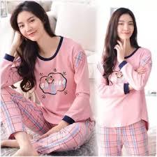 Baju Tidur shoppaholic shop baju tidur wanita mily moly lazada indonesia