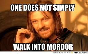 One Does Not Simply Meme Picture - what are some of the best one does not simply memes quora