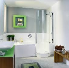 Small Bathroom Glass Shower Bathroom Ideas Transparent Tube Glass Shower Door Mixed With