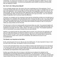 Resume About Yourself  sample about yourself how to write essay