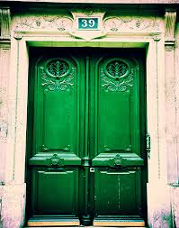 Emerald Home Decor Paris Photograph Photograph Of Door In Paris French Home