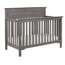 Convertible Crib Espresso by Davinci Autumn 4 In 1 Convertible Crib In Slate Free Shipping