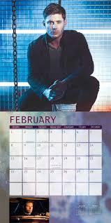 amazon black friday movie calender 2016 supernatural 2015 wall calendar the television series warner
