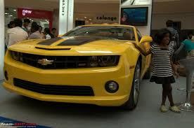 cost of chevrolet camaro in india pics the chevy camaro autobot edition in india page 4 team bhp