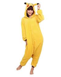 pikachu costume wowcosplay pikachu pajamas costume